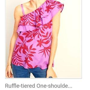 Women's ruffle shirt size XL